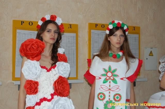 Паперові сукні розглядали у Луцьку (ФОТО), фото-9