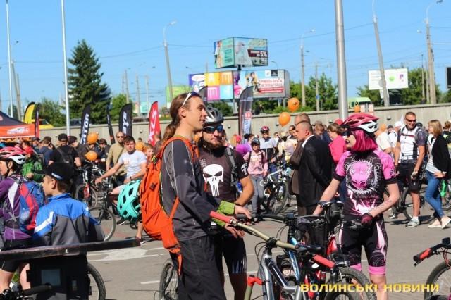 Велодень 2018: лучани на велосипедах об'їхали центральні вулиці міста (ФОТО), фото-6