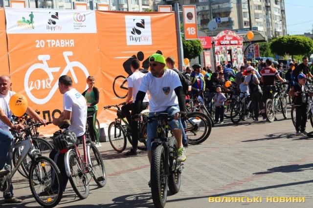 Велодень 2018: лучани на велосипедах об'їхали центральні вулиці міста (ФОТО), фото-15