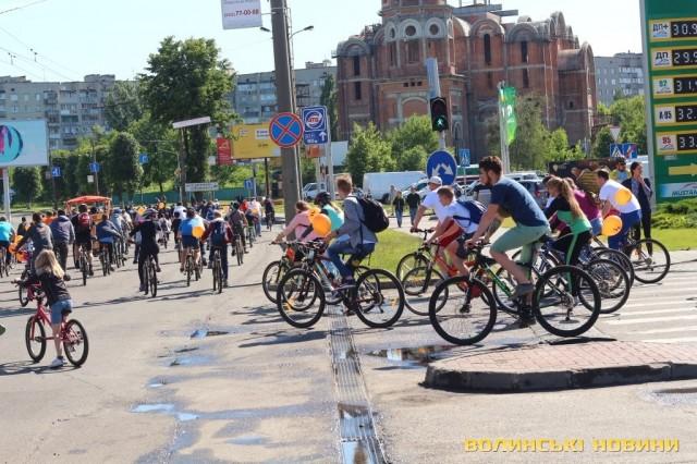 Велодень 2018: лучани на велосипедах об'їхали центральні вулиці міста (ФОТО), фото-24