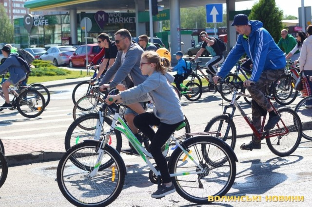 Велодень 2018: лучани на велосипедах об'їхали центральні вулиці міста (ФОТО), фото-26
