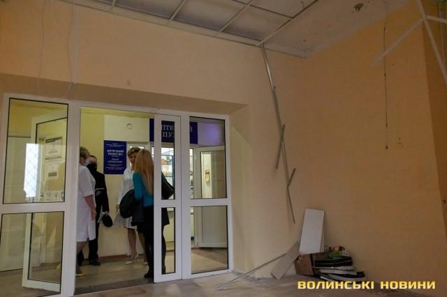 """Аптека """"Подорожник"""" лишила руїни в луцькій дитячій лікарні, по закінченню оренди. ФОТО"""