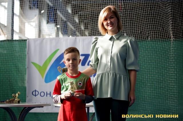 У Луцьку – осінній футбольний турнір серед дітей. Фоторепортаж