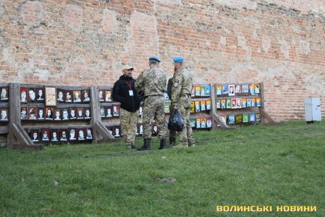 як у Луцьку відзначали День захисників та захисниць України