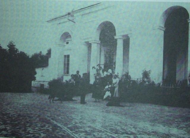 Палац в Мишеві, фото до 1939 р.