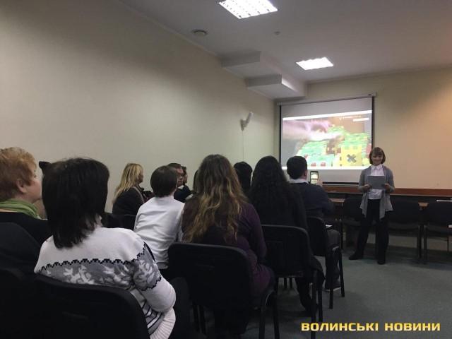 У Луцьку реалізували проект із працевлаштування «сонячної» молоді
