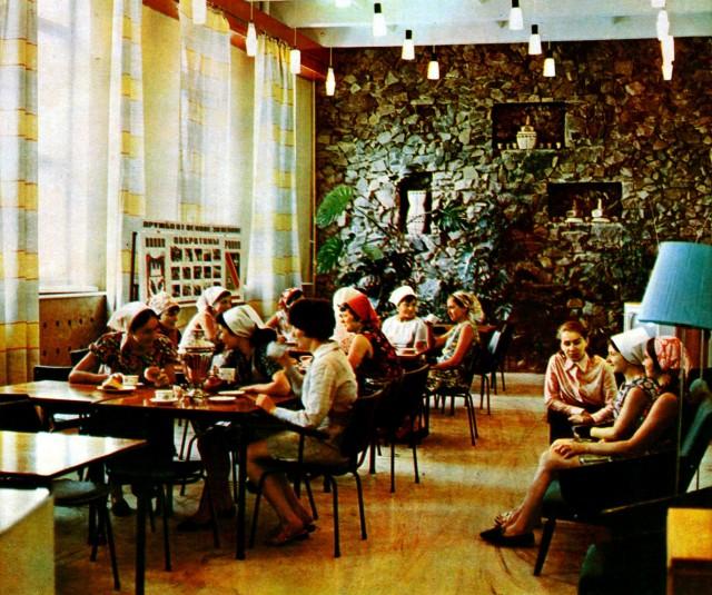 Кімната відпочинку текстильників