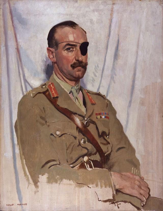 Генерал де Віарт, портрет 1919 р.