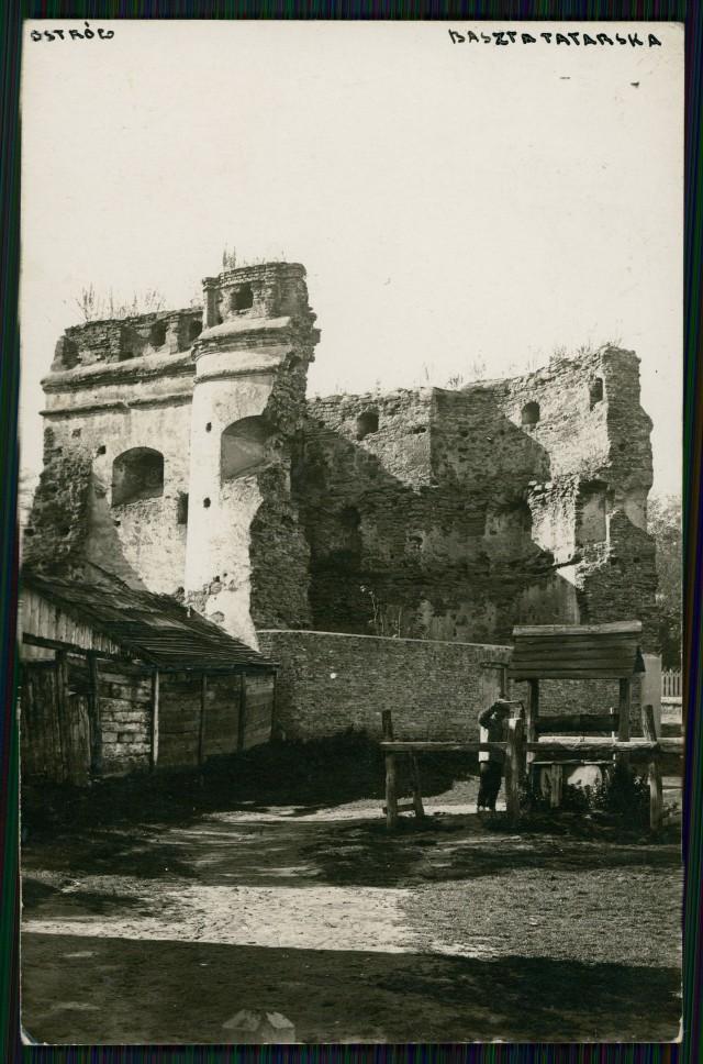 Татарська вежа в Острозі, 1920-ті роки