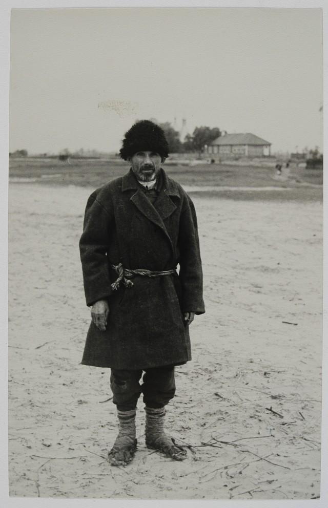 Татарський шляхтич, мешканець Полісся, фото 1936 р.